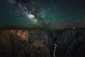 Airglow, Milky Way over Black Canyon print