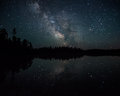Milky Way over the Boundary Waters print