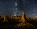 Milky Way over the Monument print