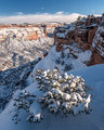 Heavy Snow in Monument Canyon print