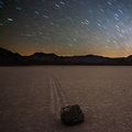 Star Trails over Racetrack Valley print