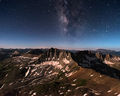 Gilpin Peak by Moonlight and Starlight print