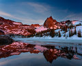 Late Spring Sunset at Lake Blanche print