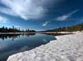 Yellowstone River in Early Spring print