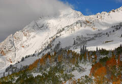 Early Snow on Mount Superior