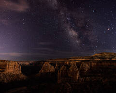 Moonlight and Stars, Monument Canyon
