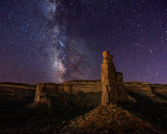 Monument Canyon, Milky Way