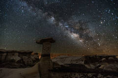 Toadstool and the Milky Way