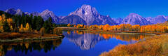 Fishing at Oxbow Bend