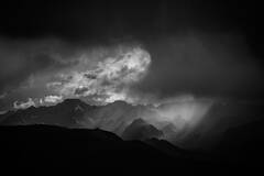 Storm on the Sierra Crest
