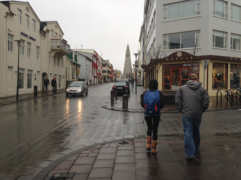 We spent a fair amount of our 82 h in Iceland walking around the city ofRéykjavik, the cleanest city I've ever visited...