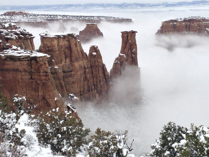 Misty Monument Canyon