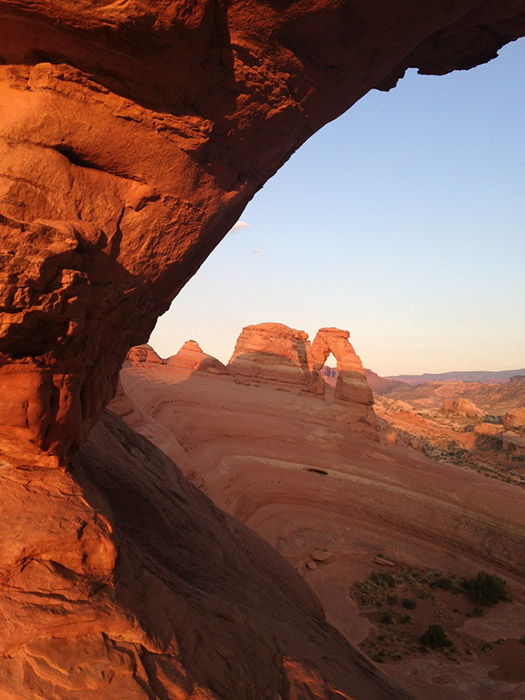 Window View of Delicate Arch
