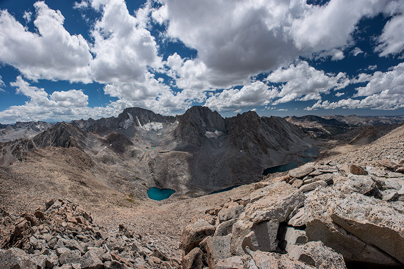 All the major peaks in Evolution Basin are named for the 19th-century philosophers and naturalists who were the early proponents...