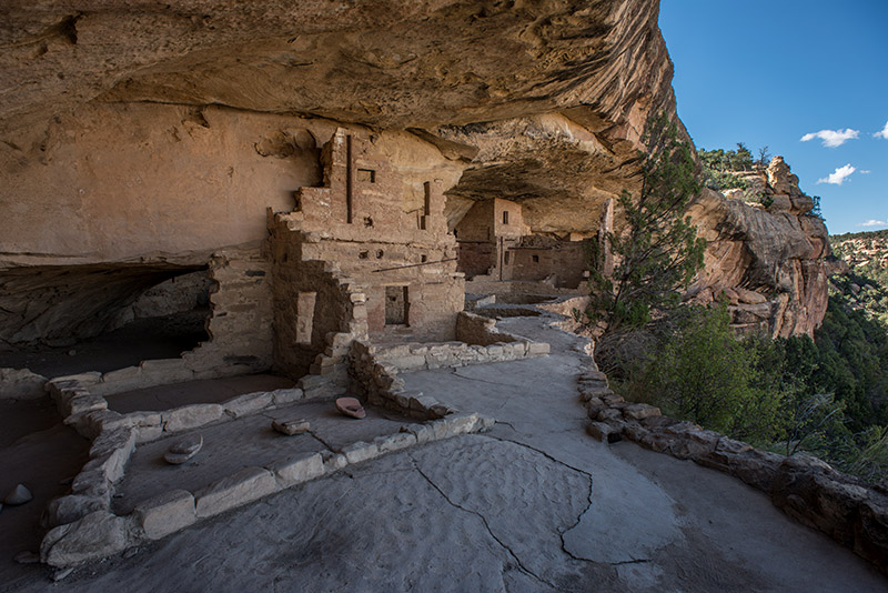 Balcony House is believed to have been built near the end of the ancestral Puebloan peoples' stay in the area, perhaps around...