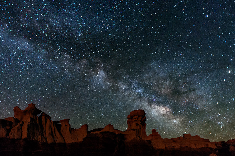 Photographing the Milky Way depends on everything going right. This bright band of the Milky Way, near the constellations...