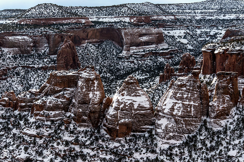 After a good snow on December 3-4, the 2013-2014 winter has been rather dry on Colorado's Western Slope. A little bit of...