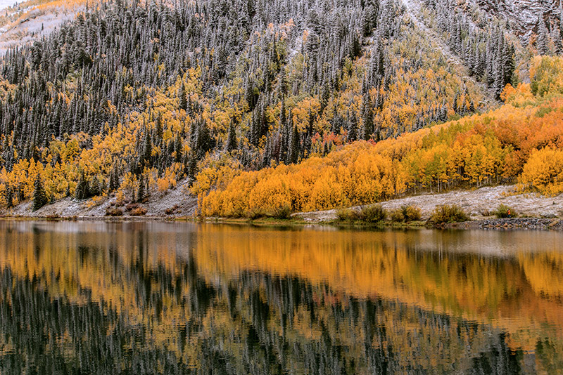 Just as the colors at Crystal Lake, along U.S. 550 between Ouray and Silverton, reached their peak at the end of September, the...