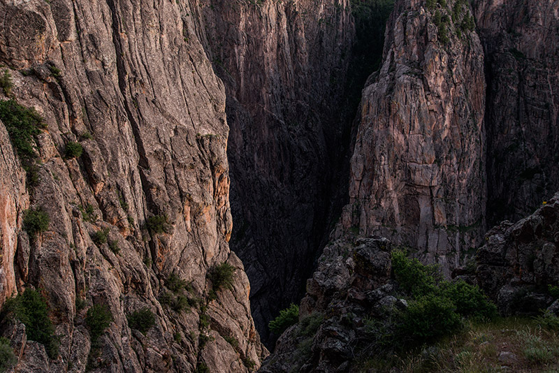 It is calledBlack Canyonnot because of the color of the rock (though much of it is very dark and even black...