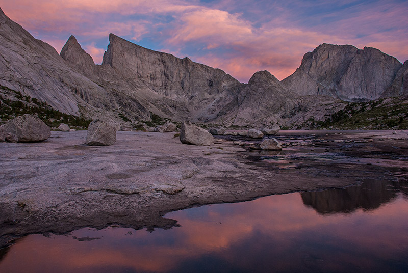 My best friend, my wife, and I caught this brilliant sunset on the first night of a multi-day backpacking trip to Deep Lake and...