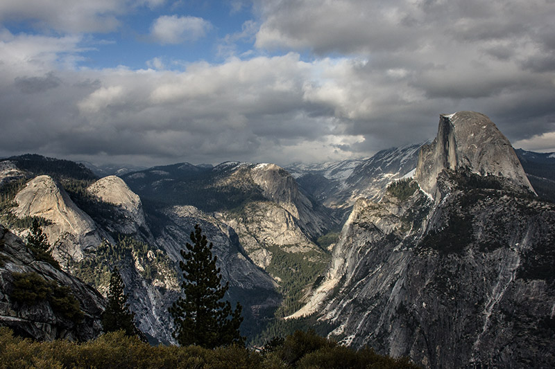Half Dome might be the single most recognizable landmark of Yosemite Valley, but it certainly is not the only dome in the area...