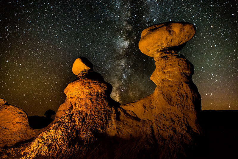 Goblin Valley State Park, near Hanksville, Utah, was in the national news for all the wrong reasons in mid-October 2013, when...