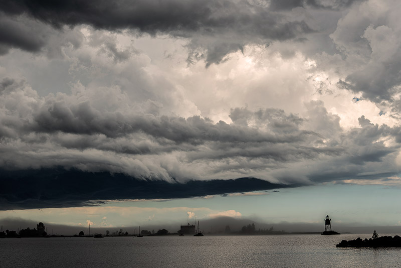 We had overall great weather during a five-day backcountry trip in the Boundary Waters. On the day we came out, this storm...