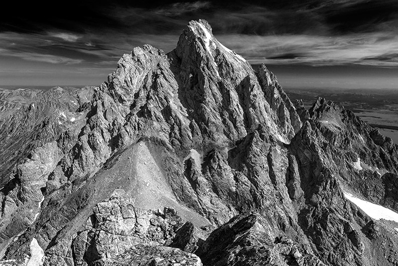 In a way, this view was eleven years in the making. My good friend Jaxon took me up to the summit of Middle Teton in 2003...