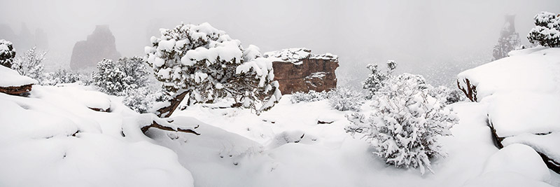 On a clear day, the panorama at Grand View is perhaps the best of any of the Colorado National Monument's viewpoints. On...