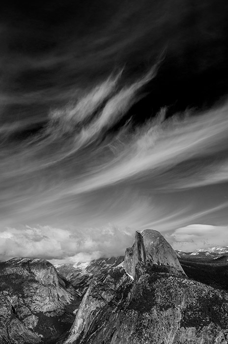On a sunny, winter afternoon at Glacier Point, I had just been reading from Ansel Adams's autobiography about his making of Monolith...