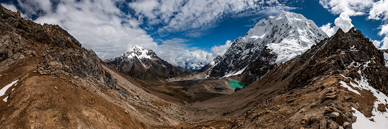 As soon as I read on our itinerary that the highest point on our trek, Inka Chiriaska Pass (Condor Pass), reached 5150 m (16...
