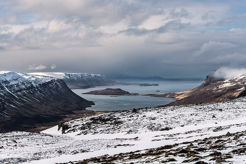 Hvalfjörður (whale fjord), where whales are seen often and caught, is on the west side of Iceland between Akranes and...