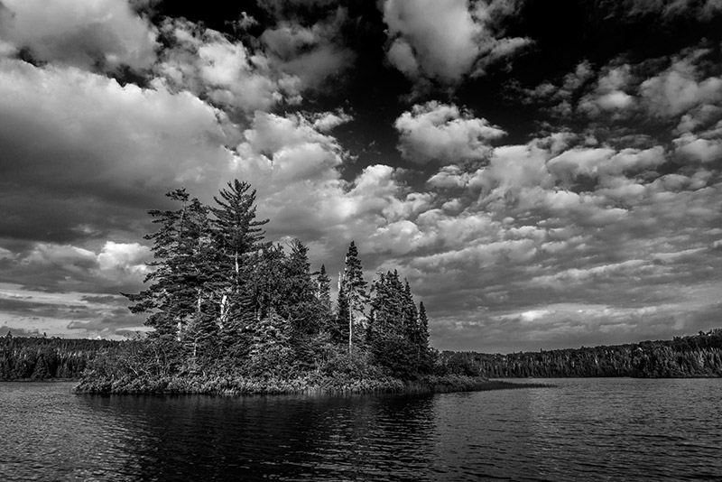 My favorite lakes in the Boundary Waters were the ones with islands.