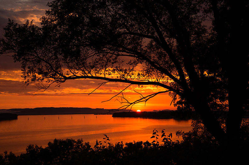 I was fortunate enough to witness two outstanding sunsets at Lake Onalaska bookending an adventure to the Boundary Waters. &nbsp...