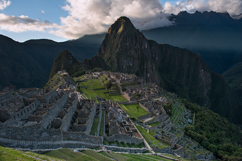I'd guess that the vast majority of visitors to Machu Picchu make an image of the city from or near this viewpoint, and for good...