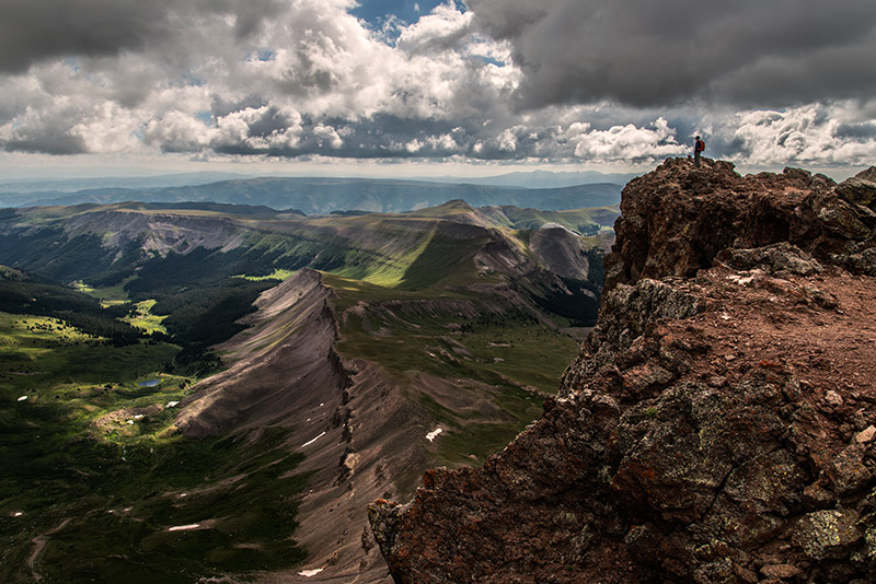 At 14, 309', the summit of Uncompahgre Peak is the highest point in Colorado's majestic San Juan Range and the sixth highest...