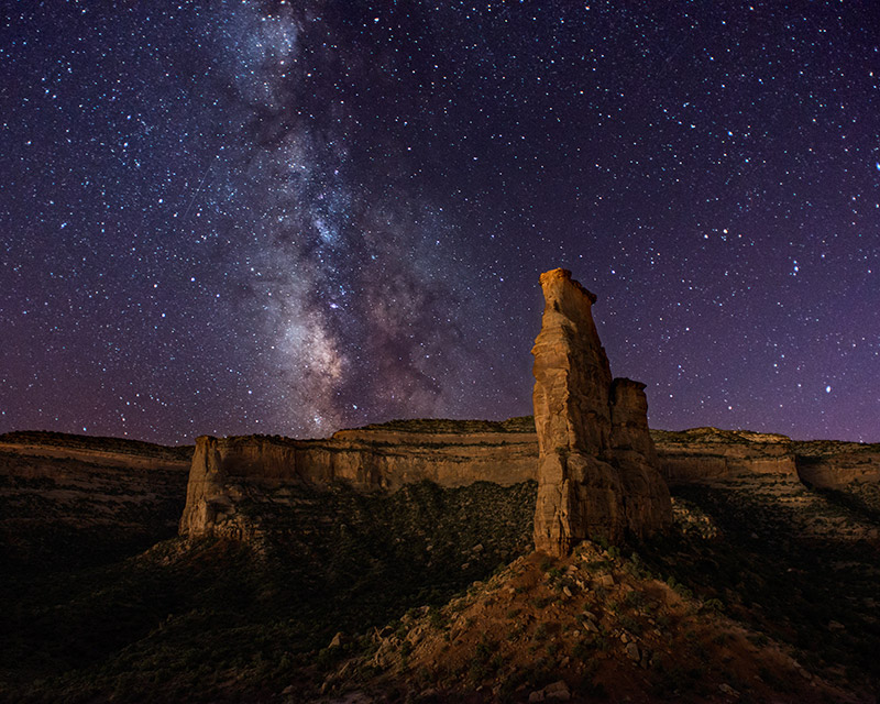 By September, the Earth's position on its path around the sun puts the Milky Way in an ideal spot for photographing it from the...