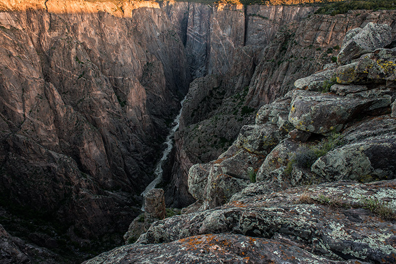 Through The Narrows, the Gunnison River runs between canyon walls only 40 feet apart, and expert kayakers can run much of the...