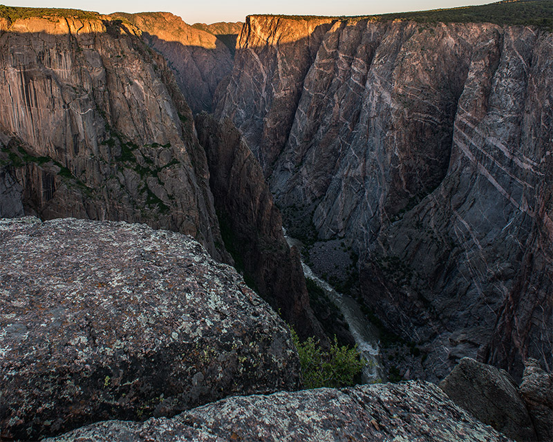 In a state known for its 14ers, the Painted Wall of Black Canyon is Colorado's tallest sheer wall with a vertical relief of 2250...