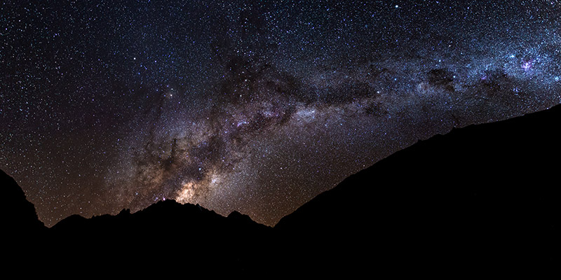 A stunning light show along the Inca Trail, Peru, during a new moon. The sky is so dark and yet so bright on nights like this...