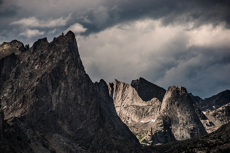 Pingora, Wolf's Head, Cirque of the Towers