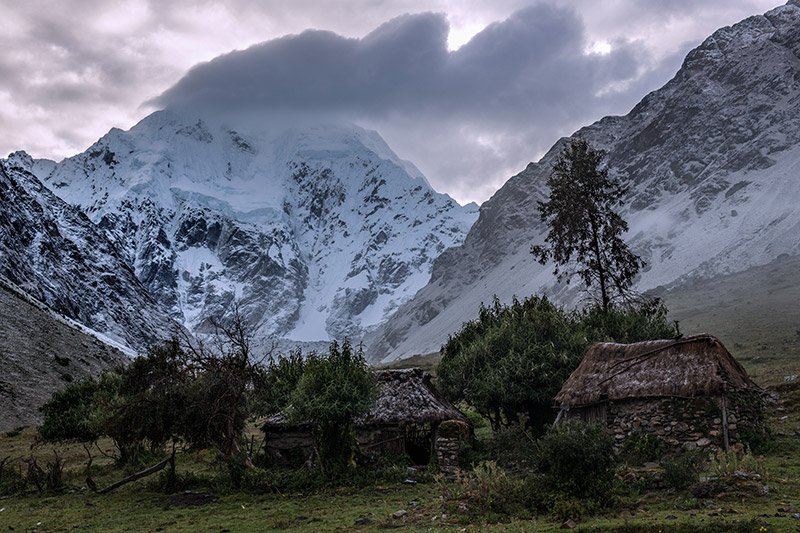 I did not anticipate hiking through and camping on so much inhabited land during the first few days of an extended trek that...