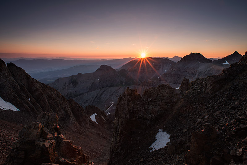 Camping at 13,700' on bare, sharp rock is no picnic, especially since I have trouble sleeping at that altitude. Seeing...