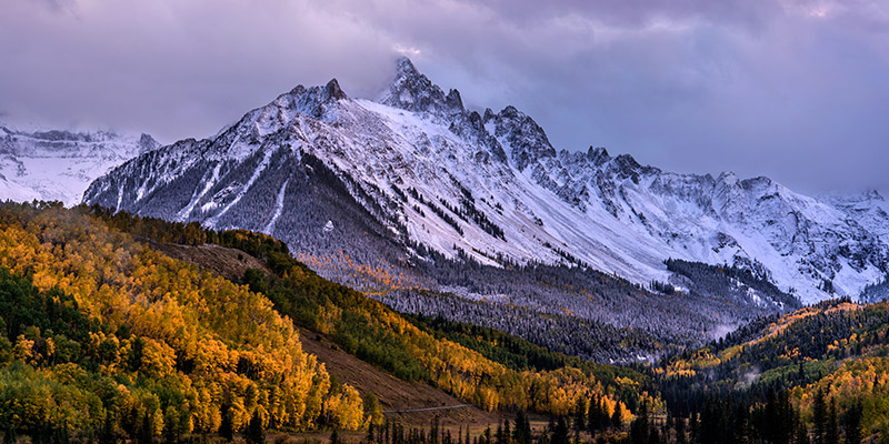The first good snow of the 2014-2015 season arrived in late September, dropping several inches in the high country as the aspens...
