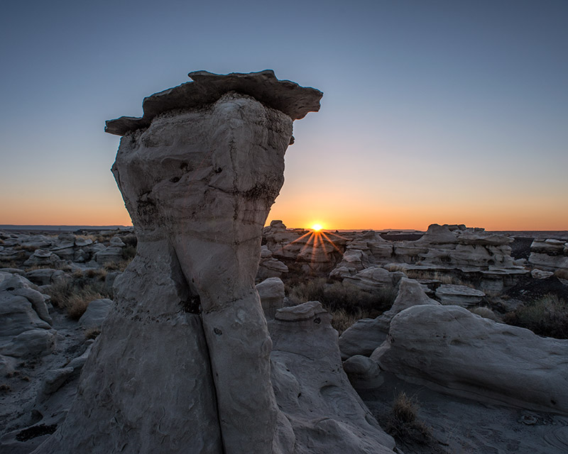 How many sunsets has this hoodoo seen since its formation? The deposits that created it date to 70 million years ago, the...