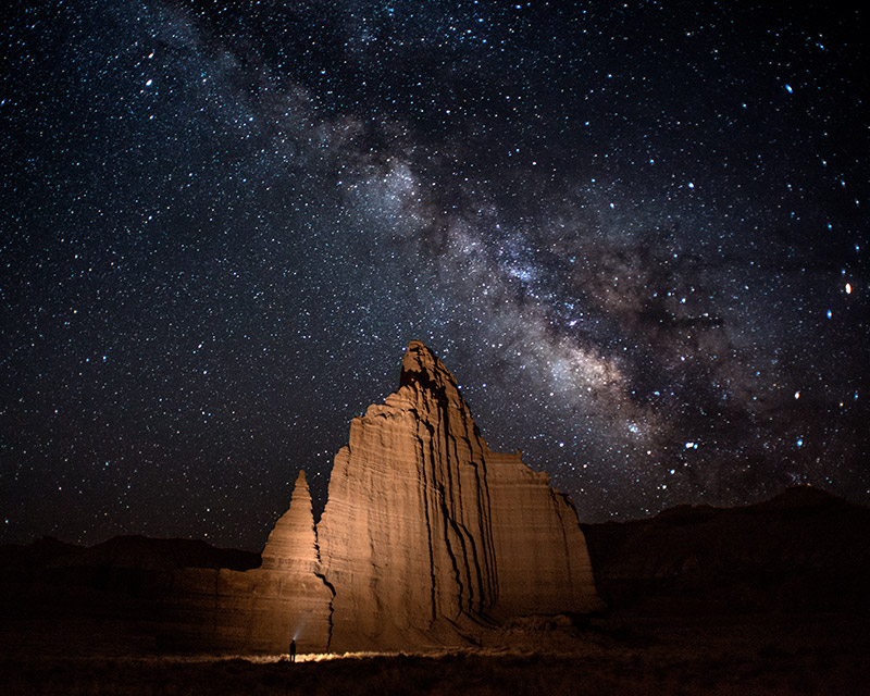 Over the last year, I've spent a few nights photographing the stars, but this particular night, in the early morning hours of...