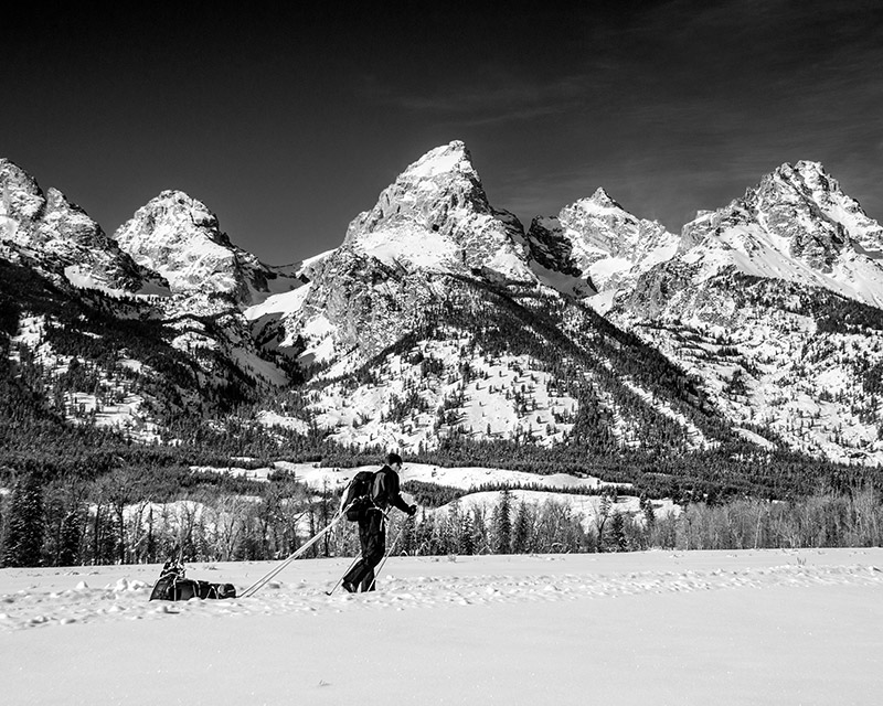 In January 2013, my best friend and I loaded up sleds, strapped on Nordic skis, and took off along the Teton Park Road, which...