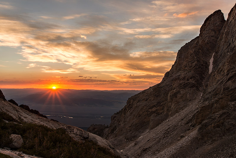 During the third week of September, I backpacked up Garnet Canyon to a decent campsite at about 10,600' and made this image of...